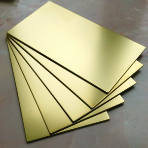 Composite brass panels